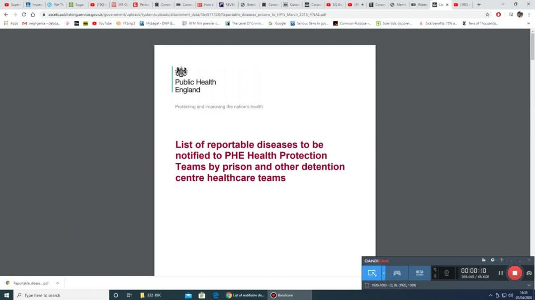 Did UK Gov't List Covid-19 As A 'Notifiable Disease' In 2015?