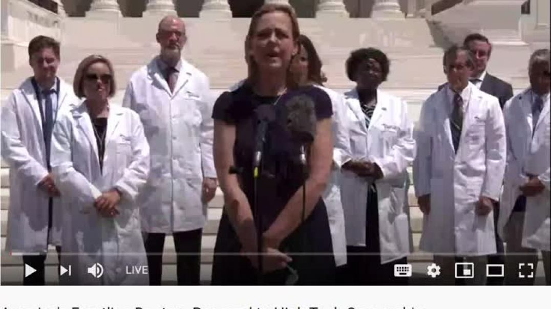 Doctors Speak Out, Again, Re- Big Tech Censorship; This Video Needs to be Seen By THE WORLD