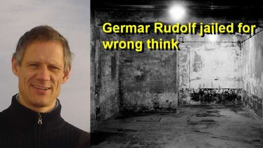 Germar Rudolf jailed for wrong think