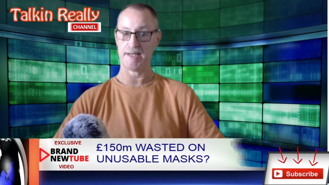 £150m wasted buying 50 million masks which are useless