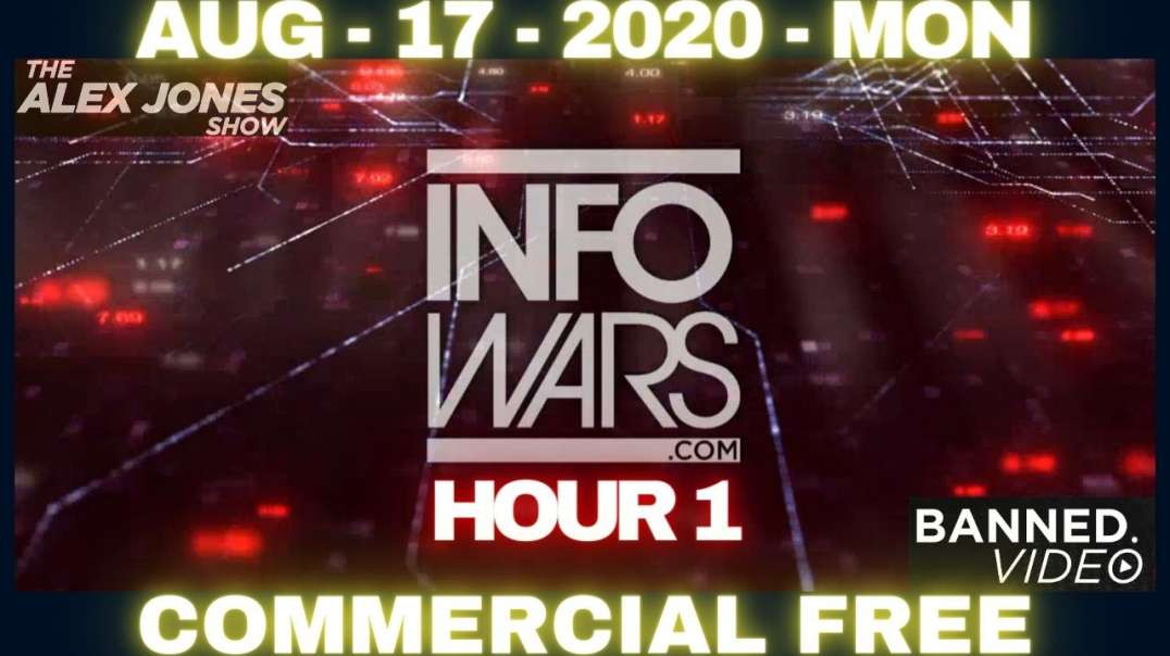 #AlexJonesShow HR1: The Lockdown is Permanent, Welcome to the Post-Industrial World!