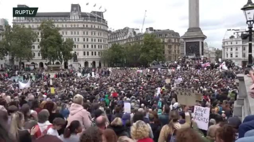 **EXCLUSIVE** DAVID ICKE SPEECH AT LONDON RALLY FOR COVID19 ~AUGUST 29th 2020