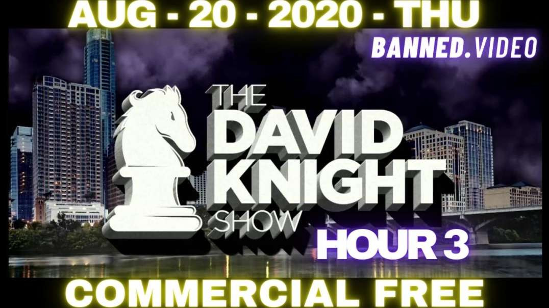 """#DavidKnightShow HR3: Kamala No Vaccine For Racism?"""" But They Prescribe It For EVERY Ailment!"""