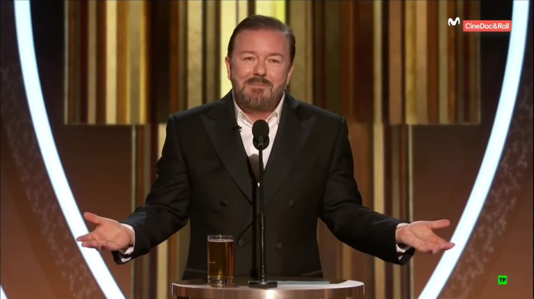 Ricky Gervais – Golden Globes 2020 (Uncensored, HD) TRUMPS MESSAGE TO HOLLYWOOD: