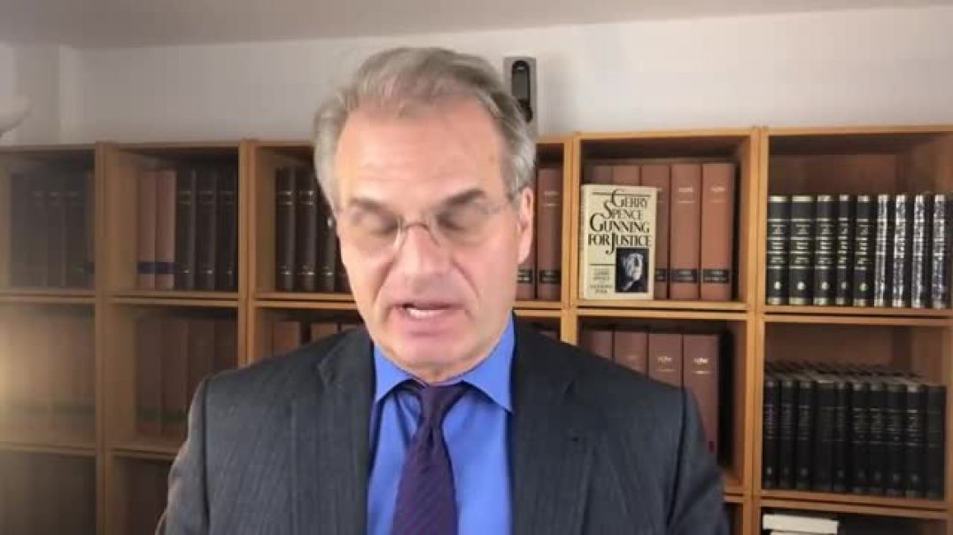 Dr. Reiner Fuellmich on The Corona  Crime Scandal