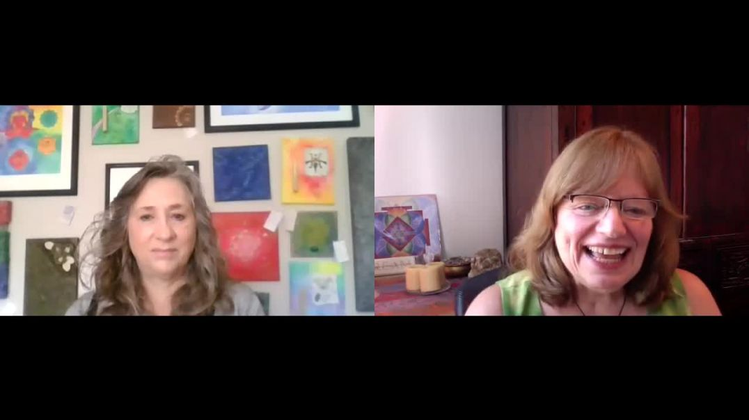 Susan Walter with Lisa Engel-Franklin, discussing Angels, Solfeggio Mandalas and more
