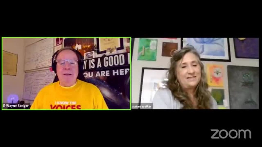 R Wayne Steiger with Susan Walter talking about Angels