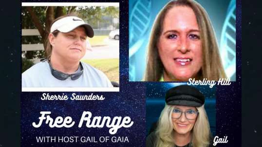 FREE RANGE: Gail of Gaia Roundtable Part 1 Ft Sherrie Saunders, Sterling Hill & Anonymous Guest