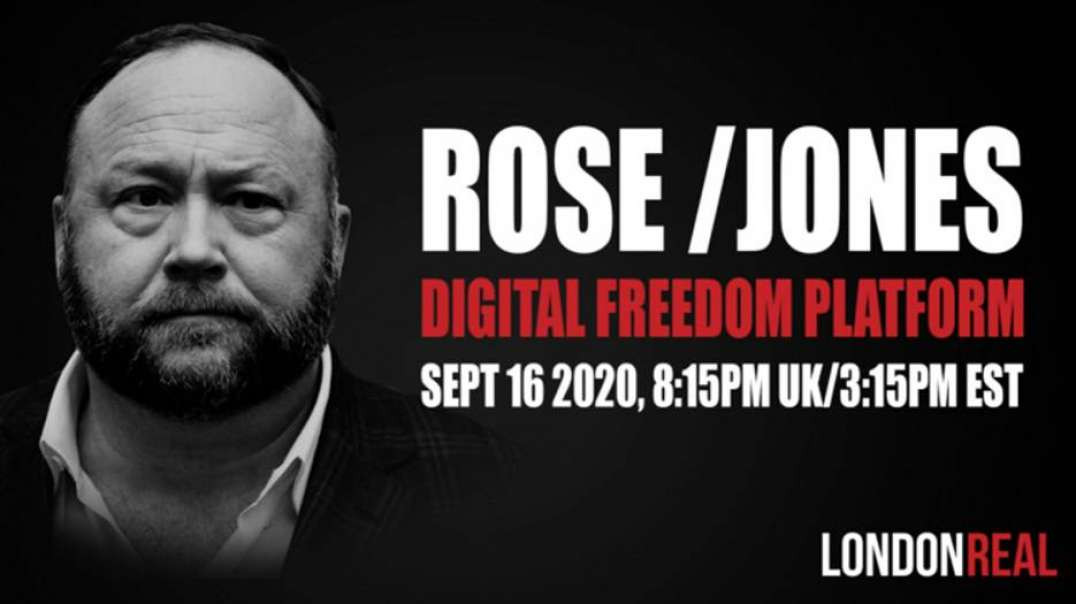 Alex Jones On London Real: We Must Break The Chains Of Globalist Oppression