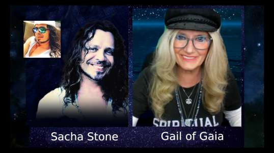FREE RANGE:  Gail of Gaia Interviews Sacha Stone About Events and Humanitarian Projects