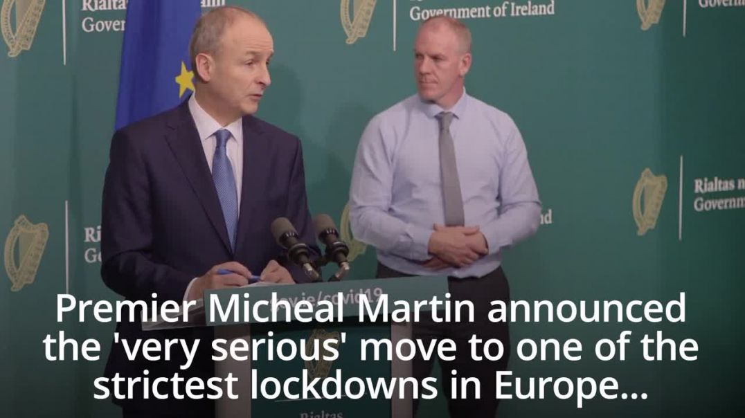 Ireland Placed in second Lockdown for 6 weeks as Covid1984 fake cases are fiddled...Again!