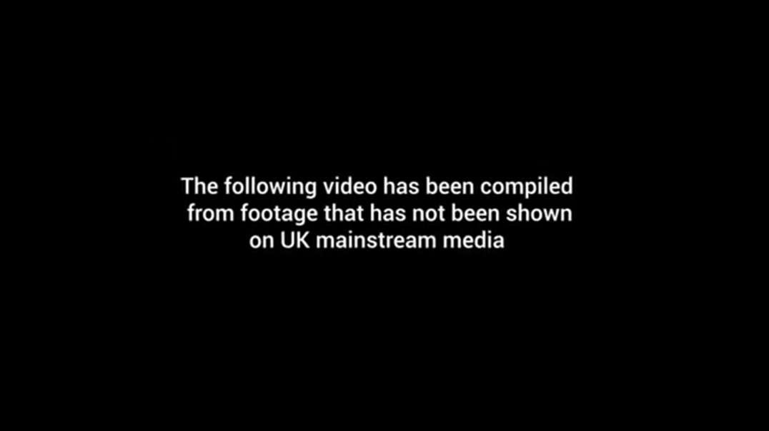 What REALLY Happened At The Trafalgar Square Protest - The Footage Mainstream Media DON'T Repor
