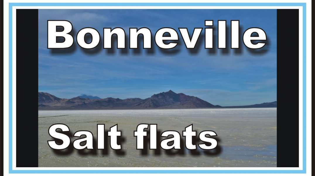 Bonneville Salt Flats, looking closely at the surface