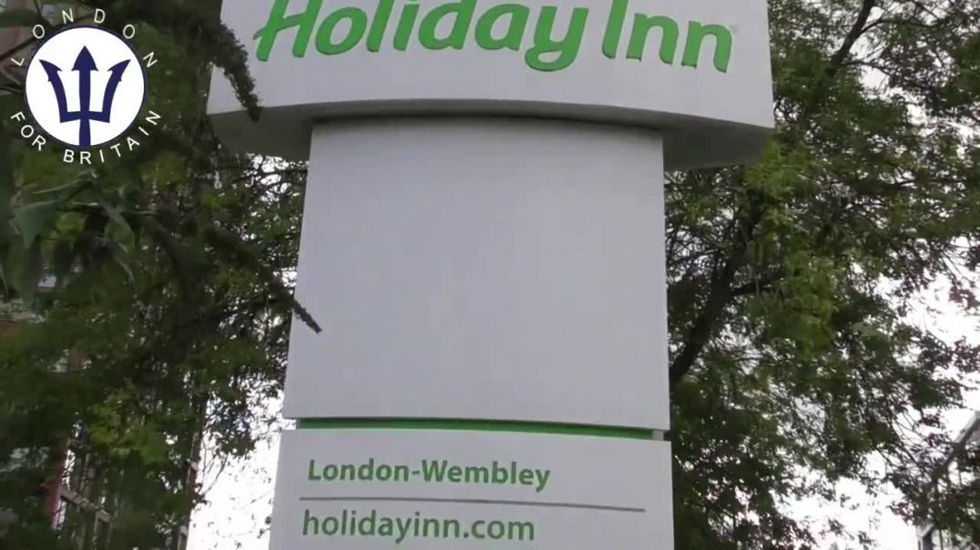 North London Hotel, Some Immigrants That The Police Assisted are Staying There