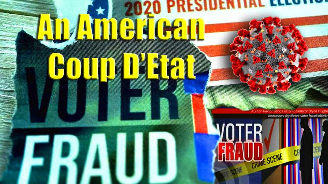 An American Coup D'Etat & $10million if You Can Prove COVID-19 is Real