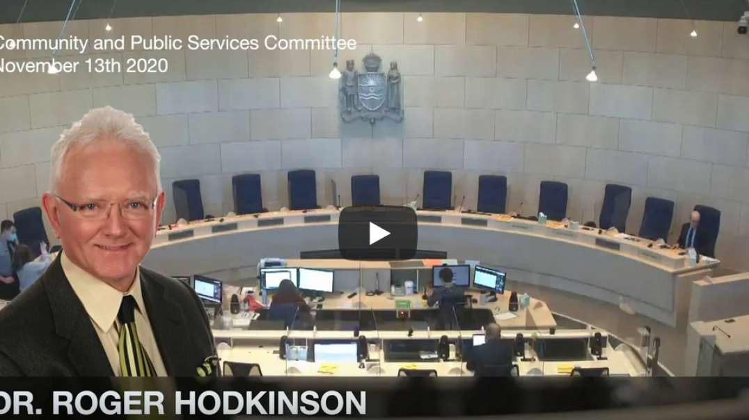 Dr. Roger Hodkinson - COVID is the greatest hoax ever perpetrated on an unsuspecting public!