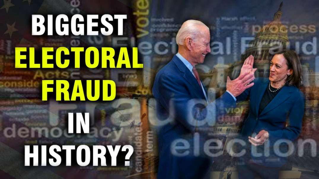 US Election 2020 The Most Blatant and Obvious Electoral Fraud in History