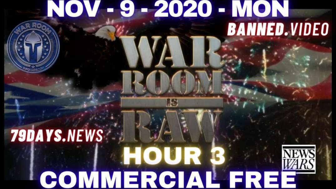 #WarRoomShow HR3: Stop The Steal Caravan Headed to DC as Trump Fights Back Against Deep State