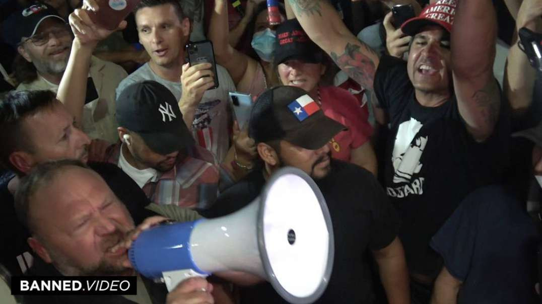 Alex Jones Gives Powerful Speech In Arizona During The Biggest Election Fraud In American History