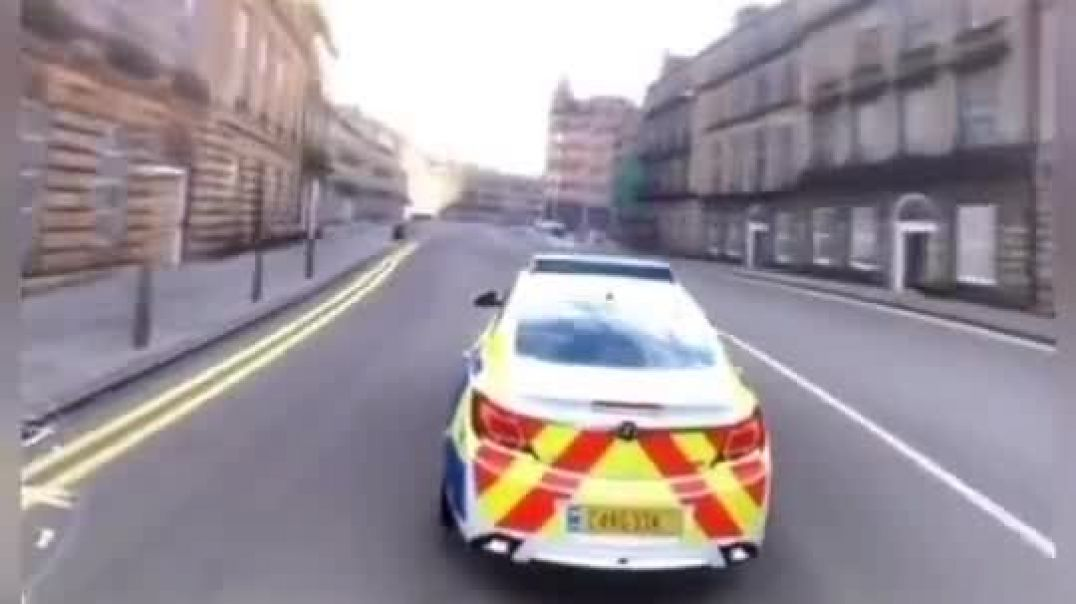 UK police in action during Lockdown