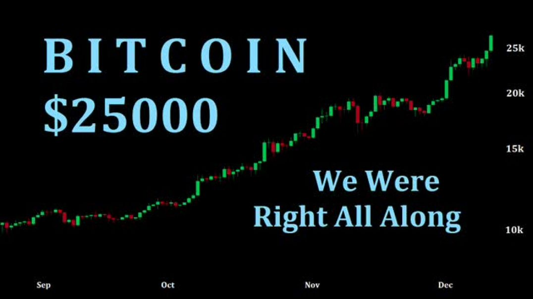 Bitcoin $25000 - We Were Right All Along