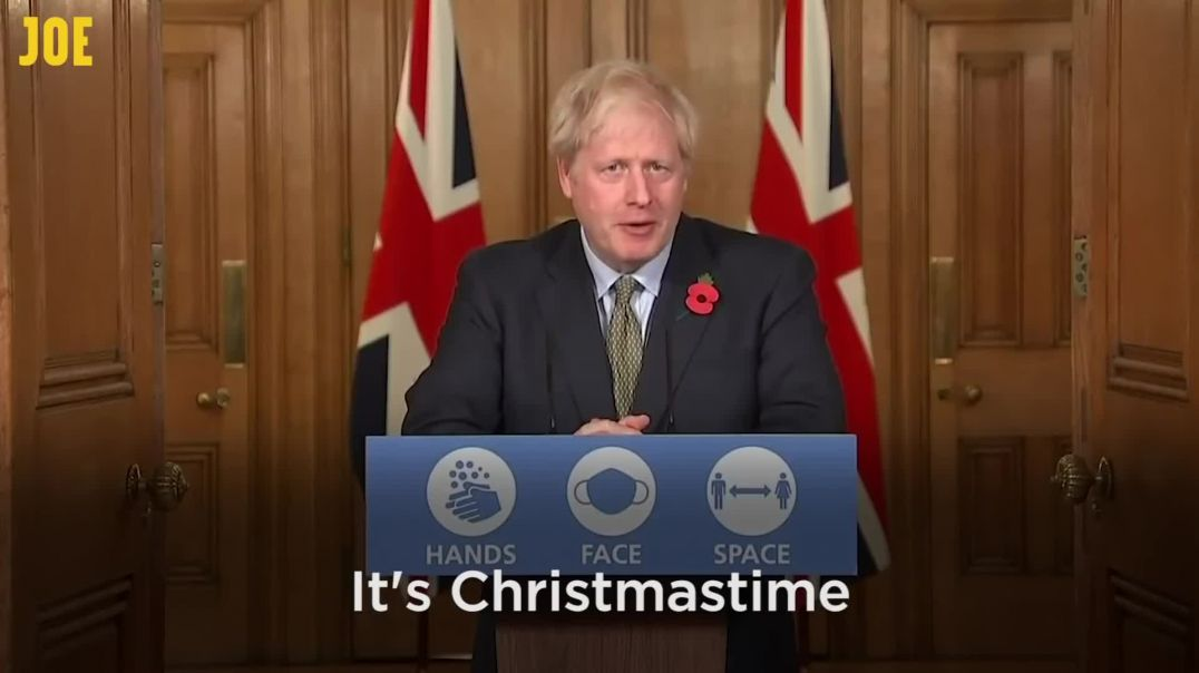 Do They Know It's Covid Time - Boris Johnson and the Super Spreaders Song