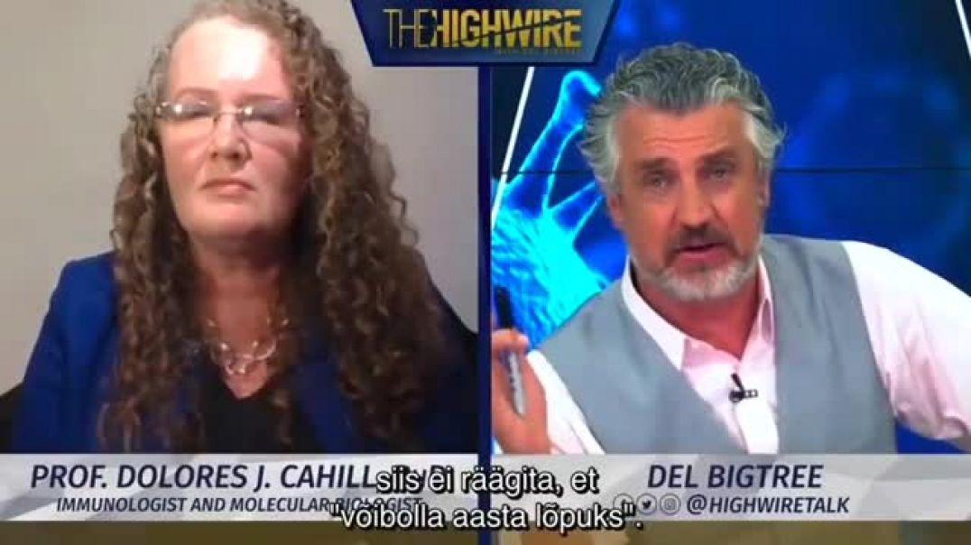 Prof. Dolores Cahill and Del Bigtree on the Highwire