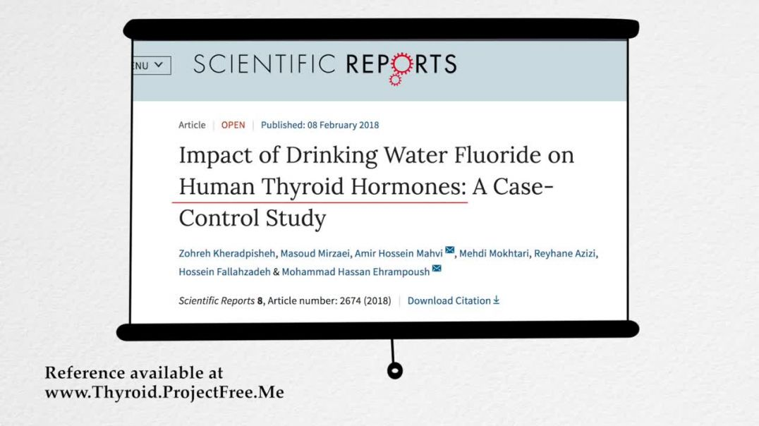 "Fluoride in water Used to Control Populations, ""Marketed"" as a ""Health Product"""