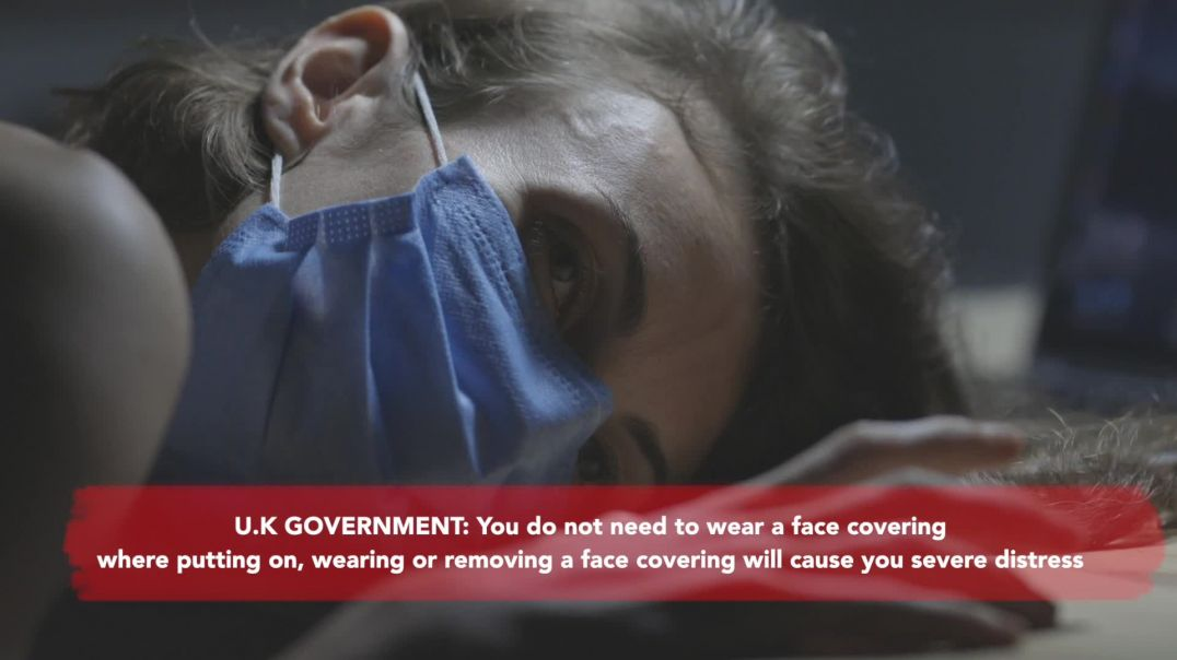 HOW TO GET A UK GOVERNMENT FACE-COVERING EXEMPTION