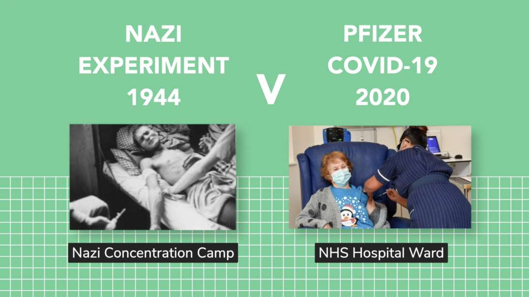 Gates Vs Hitler Mental Similarities + Nazi Experiments Vs First Old Lady in the UK to get the Jab