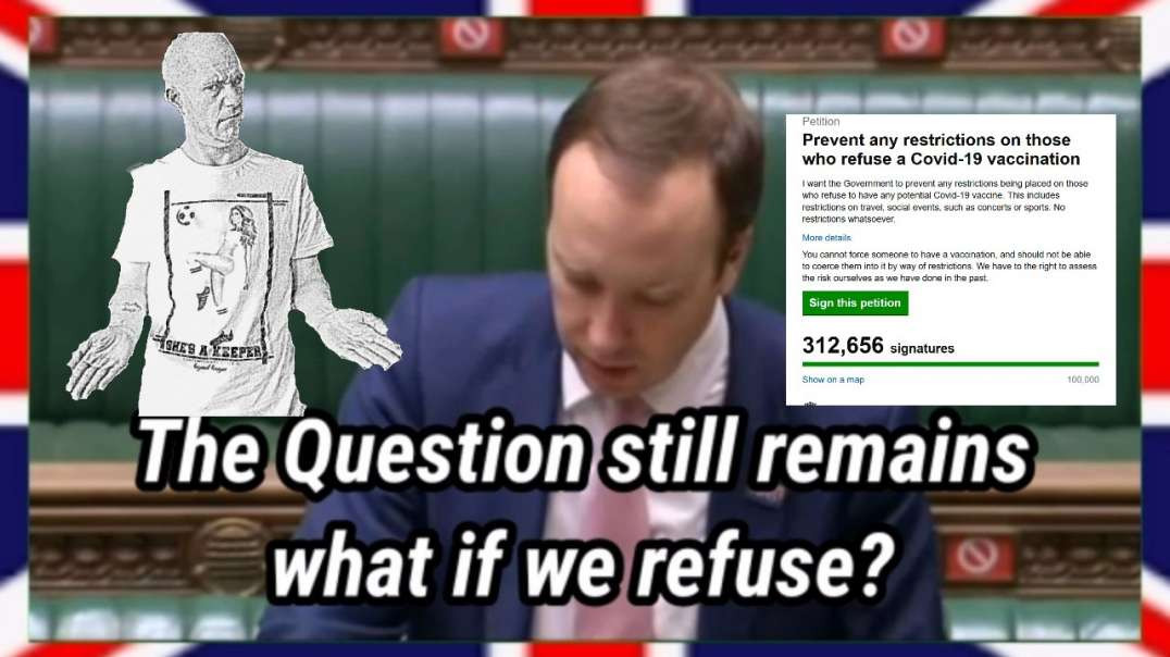 The Question Still Remains, WHAT IF WE REFUSE