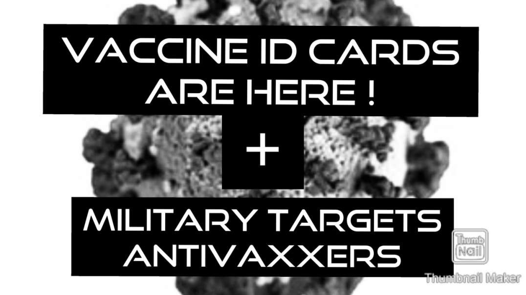 Proof of Vaccination I.D cards are here