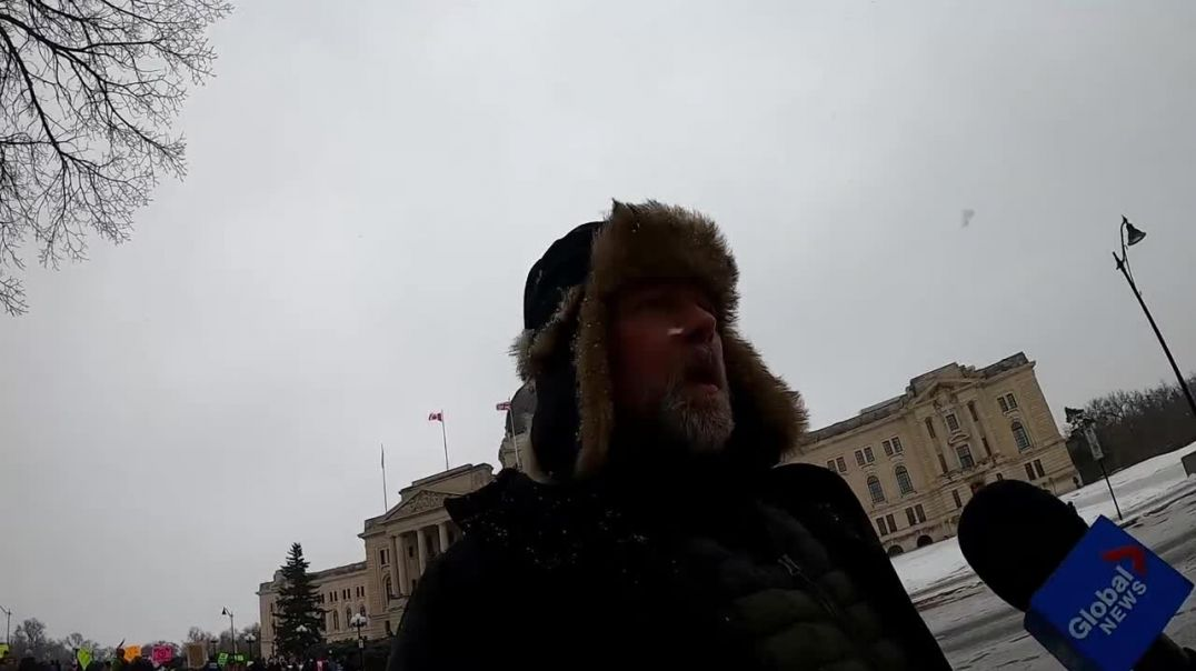 Canadian freedom fighter takes a stand, Mark is well known and looked up to in Canada