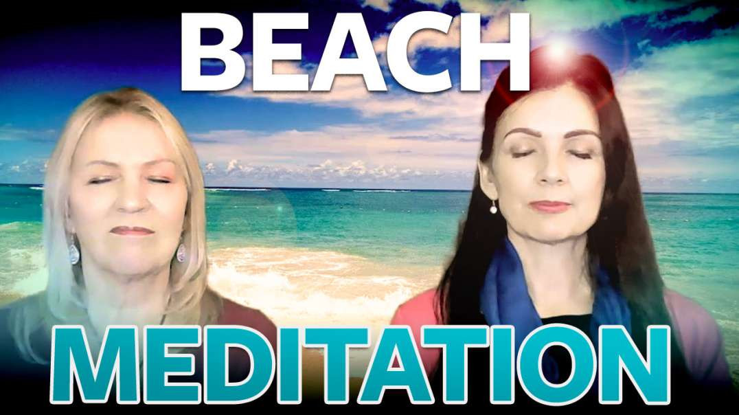Vlog Retreat Treat 14 – Beach Meditation