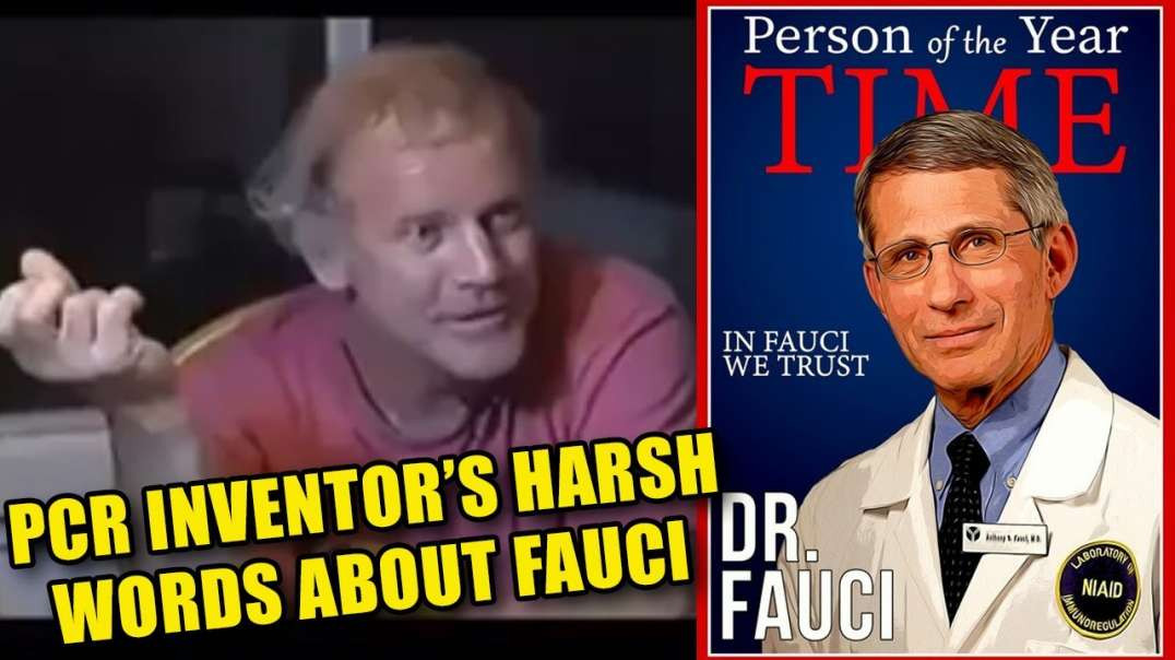 """Kary Mullis - PCR Creator - Exposes the """"lie-rus"""" credentials of Dr Falsi!"""
