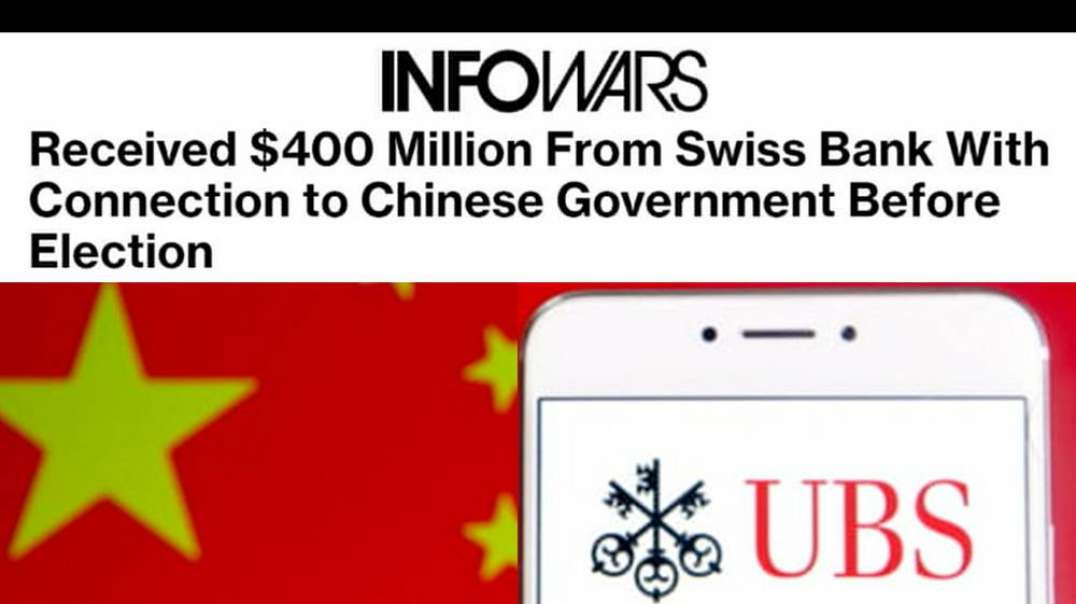 Smoking Gun: Swiss Bank Fund Owned By Chinese Government Gave Dominion 400 Million On Eve Of Electio