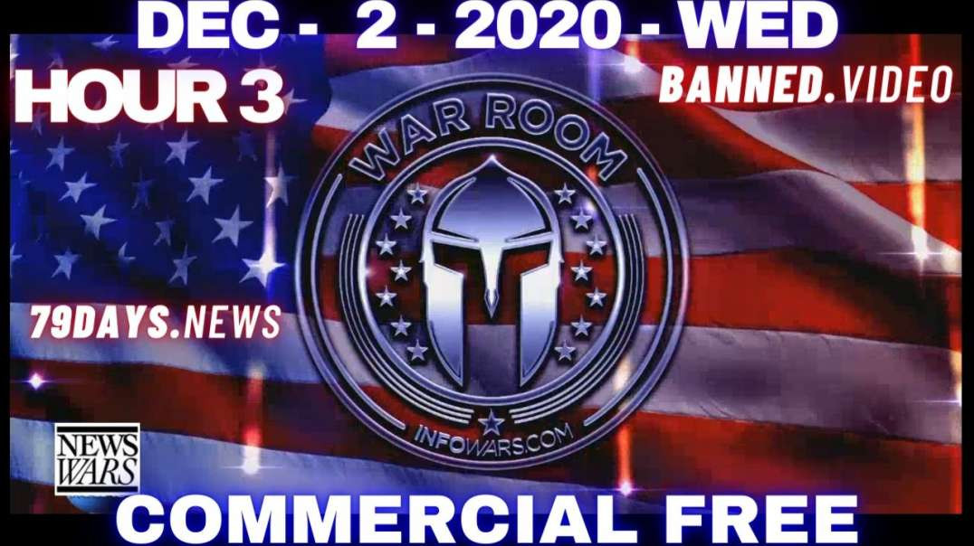 #WarRoomShow HR3: Bombshell Testimony Provides Irrefutable Proof Election Was Stolen, Martial Law?