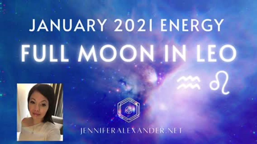 FULL MOON IN LEO: The Divinely Royal You ♌️ January 2021