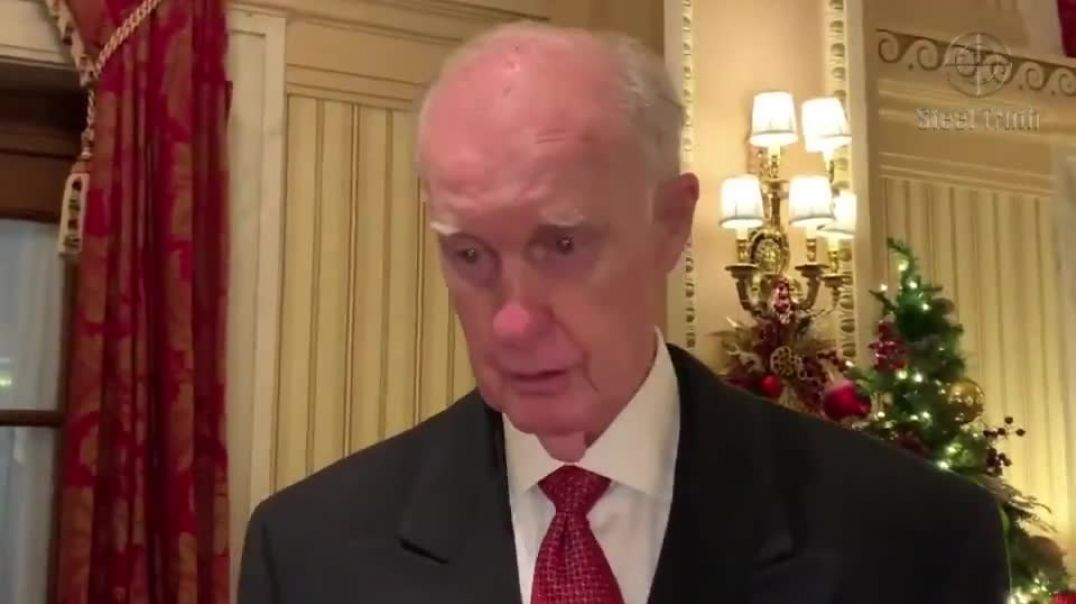 Lt. General Thomas McInerney, speaking at the White House on January 8th