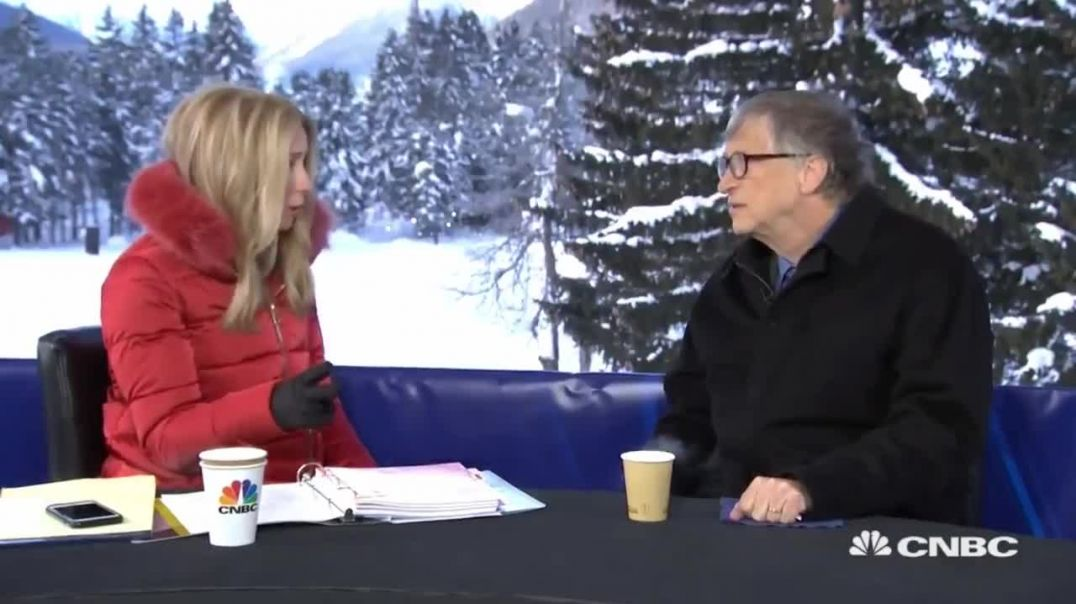 Economic Gain through Vaccines _ Bill Gates at Davos WEF