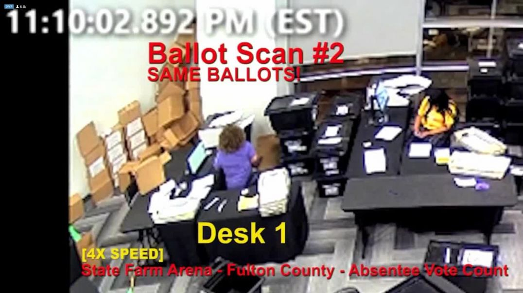 Multiple scanning of same ballots
