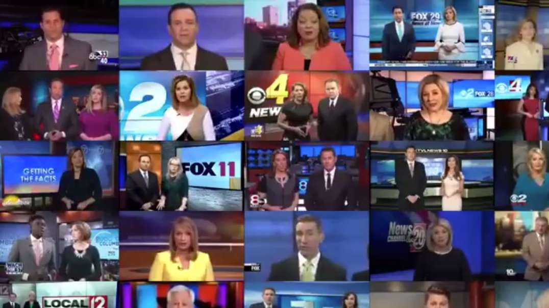 MULTIPLE LOCAL NEWS CHANNELS WITH THE SAME SCRIPT