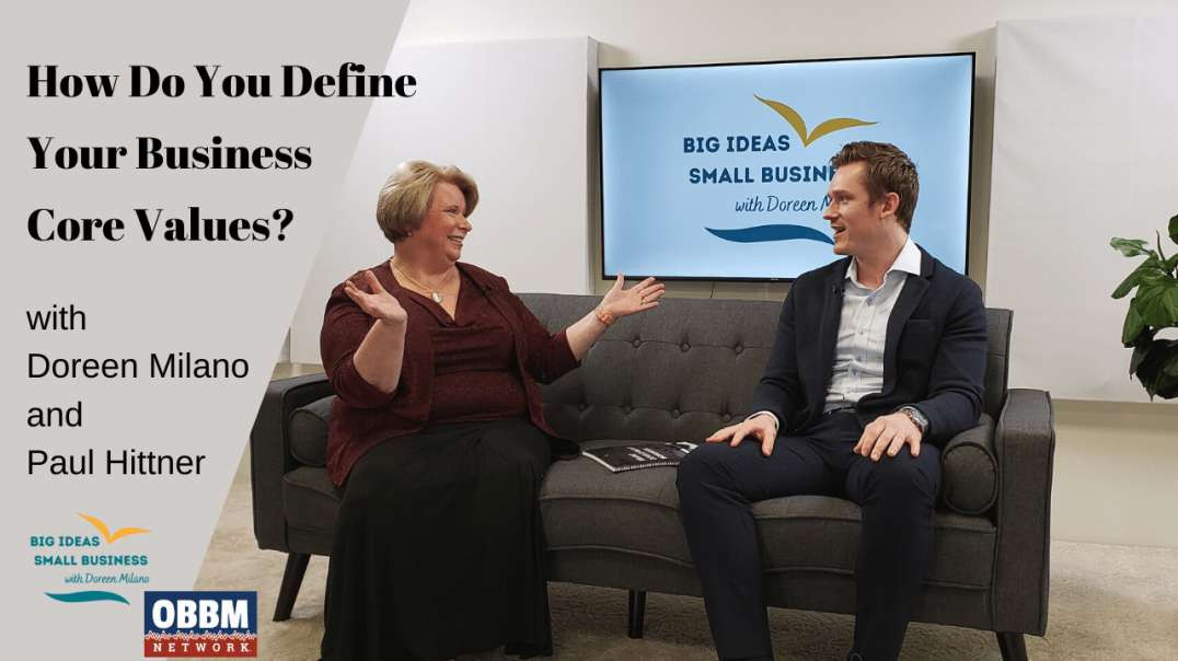 Building The Brand - Big Ideas, Small Business TV with Doreen Milano