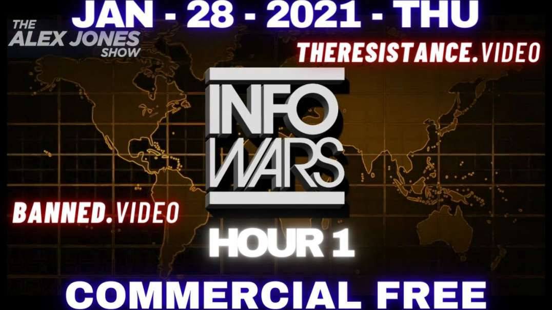 ⁣#AlexJonesShow HR1: Roger Stone Talks Path to Victory for Trump's Incitement Trial