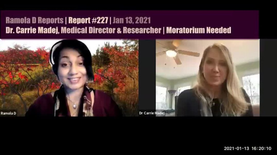DR. CARRIE MADEJ - REPROGRAMMING OF CELLS WITHOUT INFORMED CONSENT!