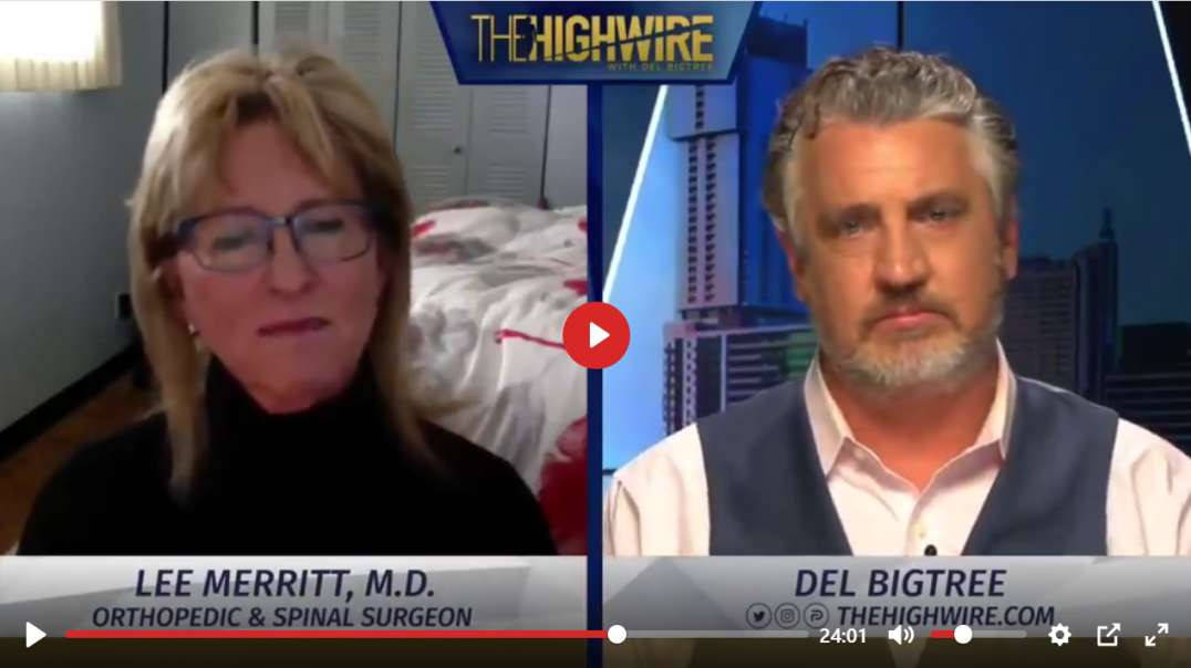 Top Surgeon - Lee Merritt - Trashes Myth That Only Vaccines Work On Viruses!