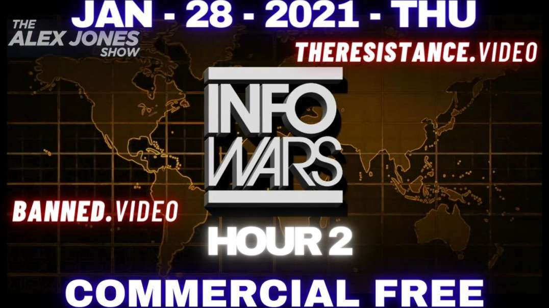 ⁣#AlexJonesShow HR2: Roger Stone Talks Path to Victory for Trump's Incitement Trial