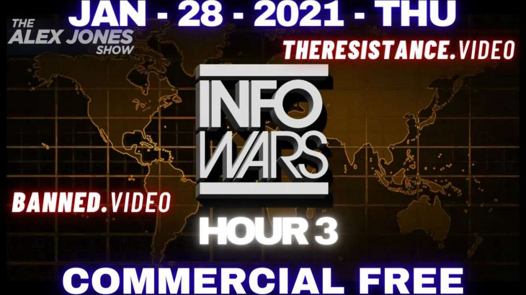 ⁣#AlexJonesShow HR3: Roger Stone Talks Path to Victory for Trump's Incitement Trial