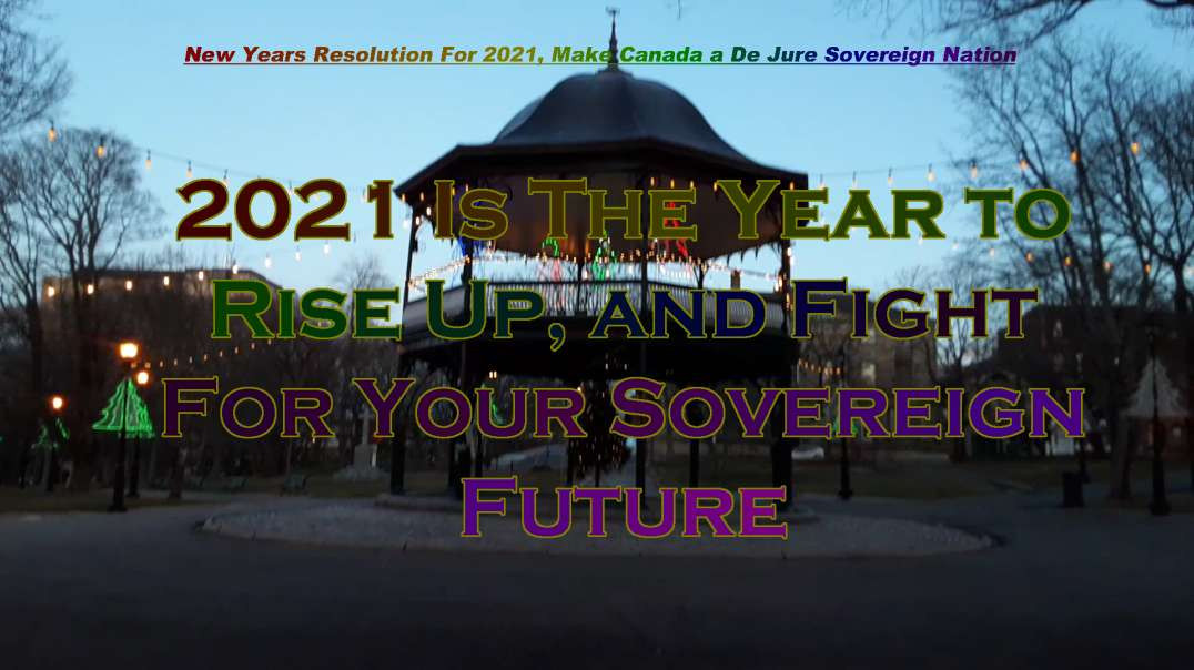 New Years Resolution for 2021 Reclaim Your Sovereignty