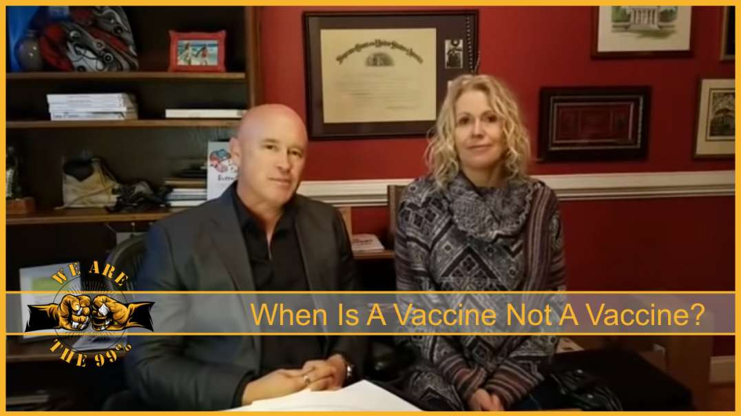 When Is A Vaccine Not A Vaccine? When It's Gene Therapy. You Are Being Manipulated!